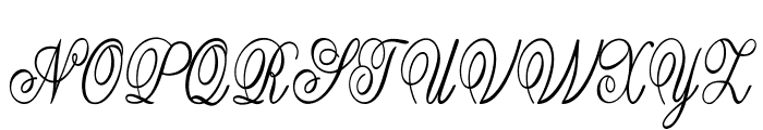 Guilden-CondensedRegular Font UPPERCASE
