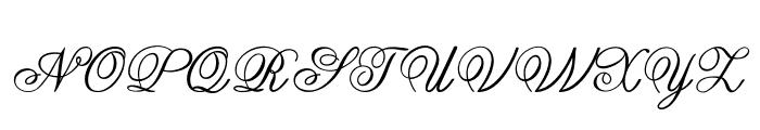 Guilden Font UPPERCASE