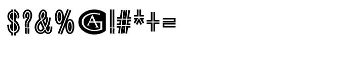 Guildenstern Regular Font OTHER CHARS