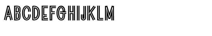 Guildenstern Regular Font UPPERCASE