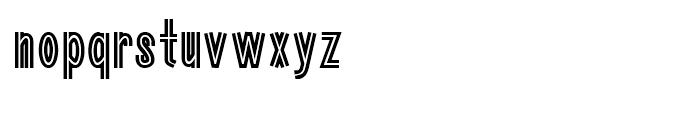Guildenstern Regular Font LOWERCASE