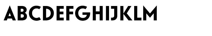 Guildford Bold Font UPPERCASE