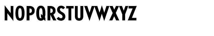Guildford Condensed Bold Font UPPERCASE