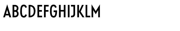 Guildford Condensed Medium Font UPPERCASE