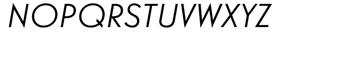 Guildford Italic Font UPPERCASE