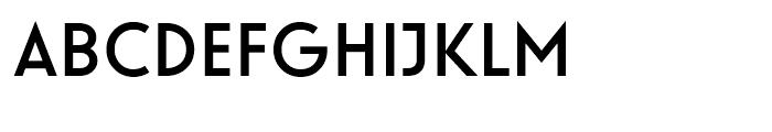 Guildford Medium Font UPPERCASE