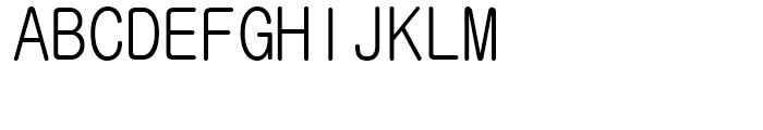 GulimChe Regular Font UPPERCASE