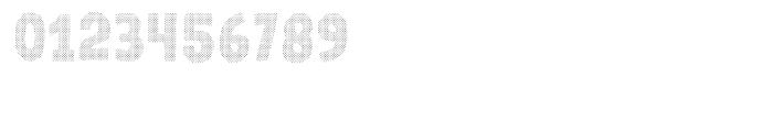 Gumdrop Halftone Font OTHER CHARS
