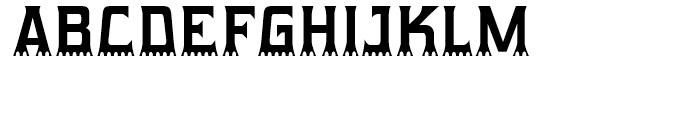 Gumtuckey Regular Font UPPERCASE