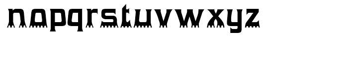 Gumtuckey Regular Font LOWERCASE