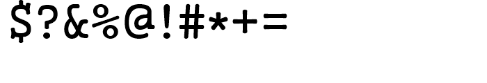 Gungsuh Regular Font OTHER CHARS