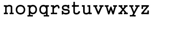 Gungsuh Regular Font LOWERCASE