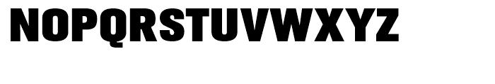 Gusto Black Font UPPERCASE
