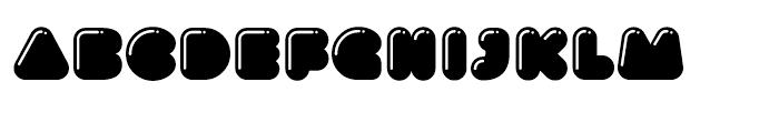 Gusto High Light Font LOWERCASE
