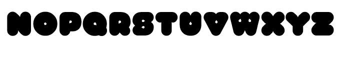 Gusto Regular Font UPPERCASE