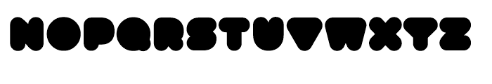 Gusto Solid Font LOWERCASE