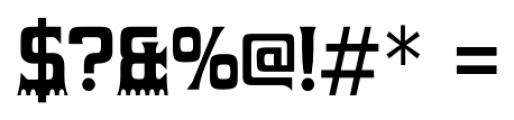 Gumtuckey Regular Font OTHER CHARS