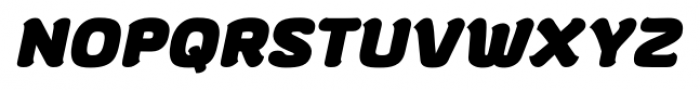 gusto Bold Italic Font UPPERCASE
