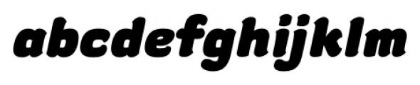gusto Bold Italic Font LOWERCASE