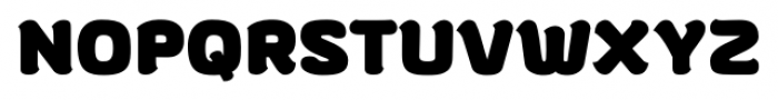 gusto Bold Font UPPERCASE