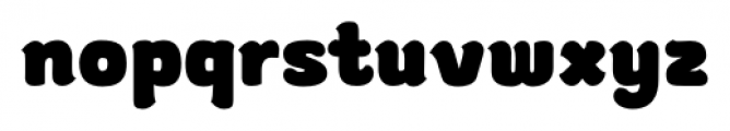 gusto Bold Font LOWERCASE