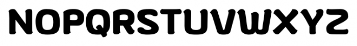 gusto Regular Font UPPERCASE