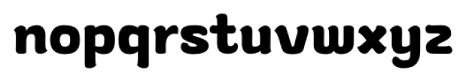 gusto Regular Font LOWERCASE