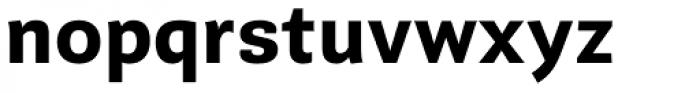 Guanabara Sans Bold Font LOWERCASE