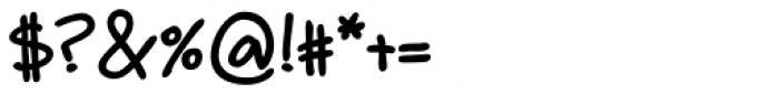 Guarapo Black Font OTHER CHARS
