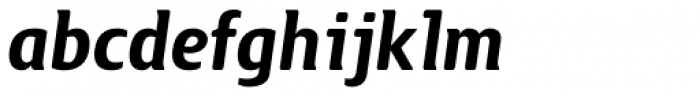 Guarda Sans Bold Italic Font LOWERCASE