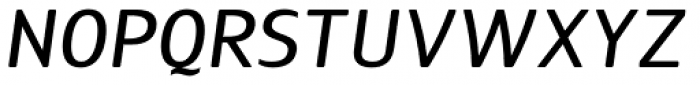 Guarda Sans Medium Italic Font UPPERCASE