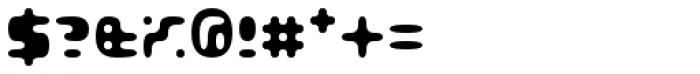 Gubblebum Black Font OTHER CHARS