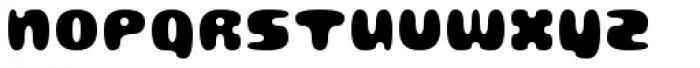 Gubblebum Black Font UPPERCASE
