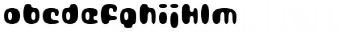 Gubblebum Black Font LOWERCASE