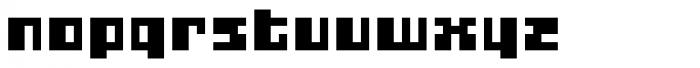 Gubblebum Blackn Blocky Font LOWERCASE