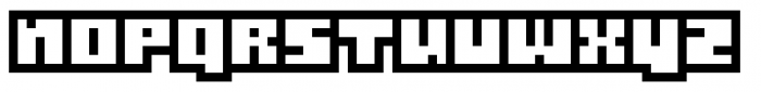 Gubblebum Blocky Font UPPERCASE