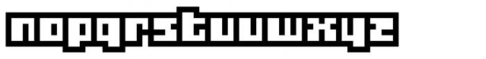 Gubblebum Blocky Font LOWERCASE