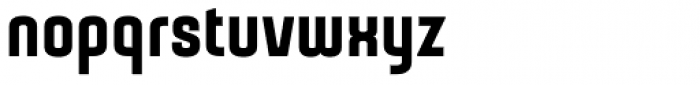 Gubia Black Alternate Font LOWERCASE