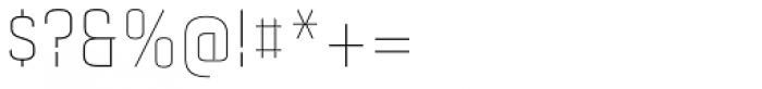 Gubia Light Alternate Font OTHER CHARS