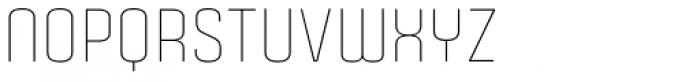 Gubia Light Alternate Font UPPERCASE
