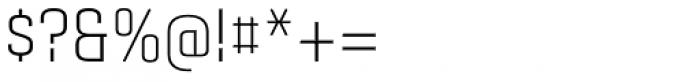 Gubia Regular Alternate Font OTHER CHARS