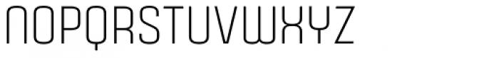 Gubia Regular Alternate Font UPPERCASE