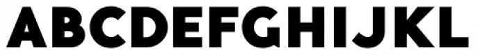 Guerrer Black Font UPPERCASE
