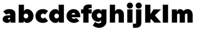 Guerrer Black Font LOWERCASE