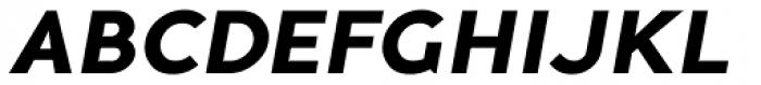 Guerrer Bold Oblique Font UPPERCASE