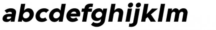 Guerrer Bold Oblique Font LOWERCASE