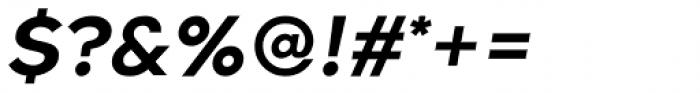 Guerrer Semibold Oblique Font OTHER CHARS