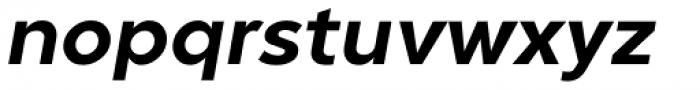 Guerrer Semibold Oblique Font LOWERCASE