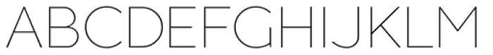 Guerrer Thin Font UPPERCASE