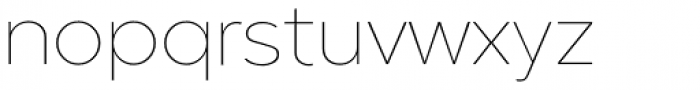 Guerrer Thin Font LOWERCASE